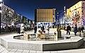 La fontaine et sa sculpture - Esplanade du Flon, 2017.jpg