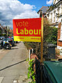 Labour posterboard Hornsey Wood Green 7 May 2015.jpg