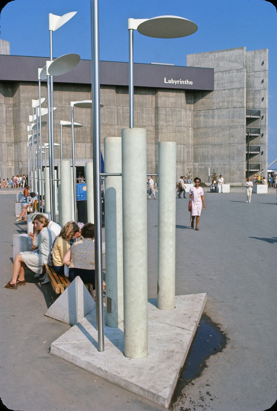 Labyrinth Pavilion at Expo 67