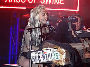 "Dope (Lady Gaga song) - Lady Gaga performing ""Dope"" at South by Southwest, 2014"