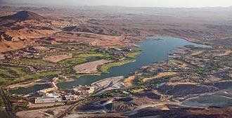 Henderson, Nevada - Image: Lake Las Vegas aerial view