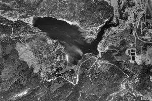 Lake Siskiyou - Satellite view