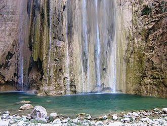 Lamadaya - Lamadaya water falls in Sanaag, Somalia.