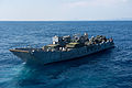 Landing Craft Utility 1666 departs USS Denver 140223-N-IC565-127.jpg