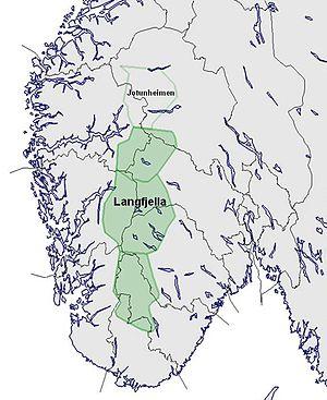 Langfjella Wikipedia