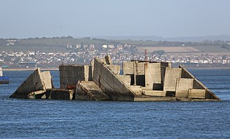Langstone Harbour - The Phoenix breakwater wreck
