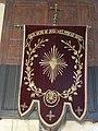 Lanneuffret - Enclos paroissial - Église Saint-Guévroc - Bannière Cœur sacré de Jésus.jpeg