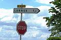 Lannux Panneau routier.JPG
