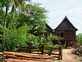 Lao stilt house in Ban Don.JPG
