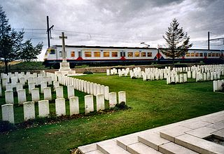 Larch Wood (Railway Cutting) Commonwealth War Graves Commission Cemetery