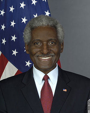 United States Ambassador to Barbados and the Eastern Caribbean - Image: Larry Palmer ambassador portrait