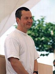 Lars von Trier à Cannes en 2000.