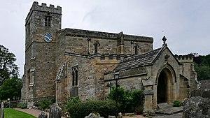 Lastingham - Image: Lastingham Church Aussen H2b