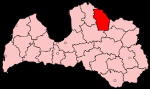 Valka District - Image: Latvia Valka