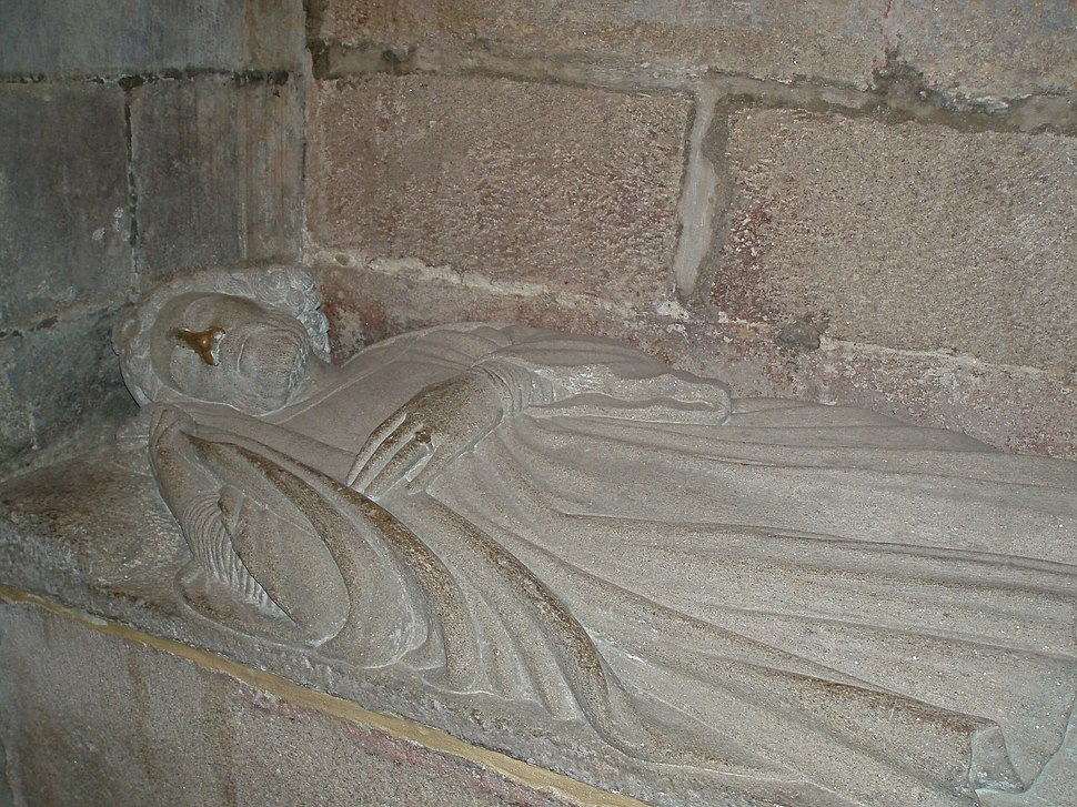 Sepulcro do rei Fernando II de León e Galiza (Rex in Legione et Gallecia); (m. 1187)