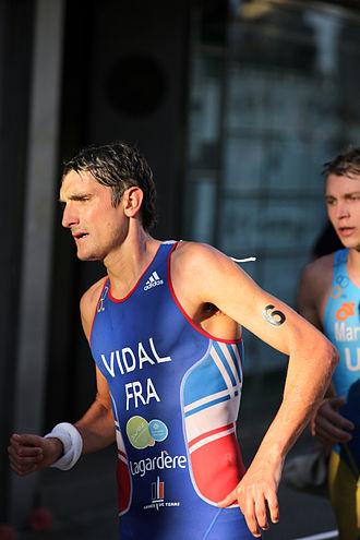 Laurent Vidal - Vidal at the European Championships in Pontevedra, 2011