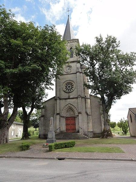 Lavallée (Meuse) église churches in Meuse
