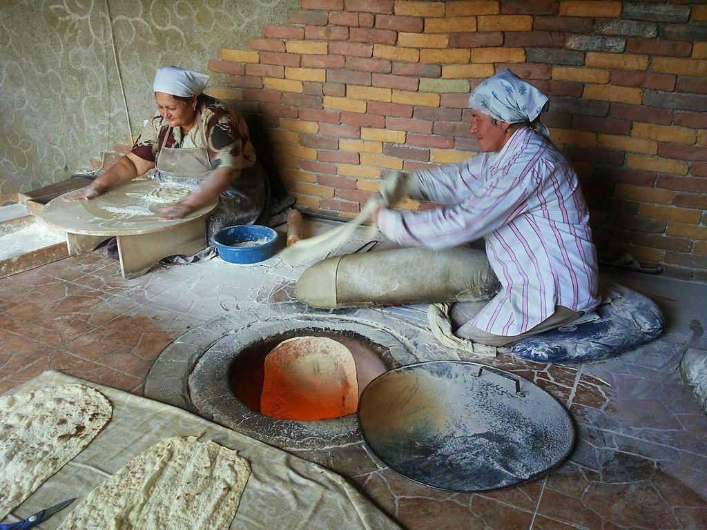 Lavash preparation