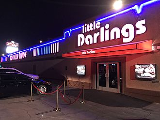 Strip club - Exterior of Little Darlings strip club in Las Vegas, Nevada owned by Déjà Vu
