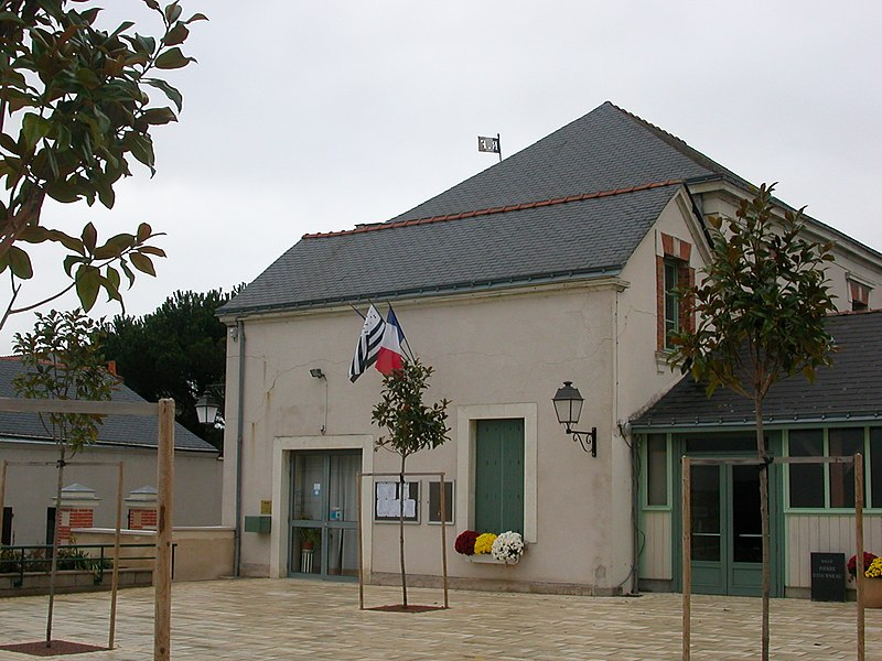 Town hall of Le Fresne-sur-Loire