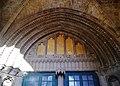 Lefkoşa Selimiye-Moschee (Sophienkathedrale) Westportal Tympanon.jpg