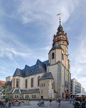 St. Nicholas Church, Leipzig - Image: Leipzig Nikolaikirche BW 2012 09 10 18 11 46