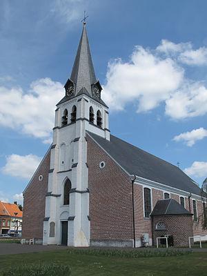 Kaprijke - Image: Lembeke, parochiekerk Sint Egidius oeg 44646 foto 2 2013 05 05 14.04