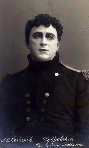 Leonid Sobinov - as Dubrovsky in Dubrovsky (1914)