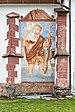 Lesachtal Liesing Pfarrkirche hl. Nikolaus Christophorus-Fresko 06102018 4925.jpg