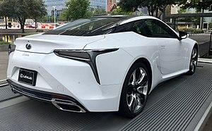 Lexus LC - Image: Lexus LC500Dallas TX