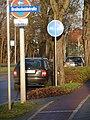 Lichterfelder Allee Südseite, Radweg an Einmündung Breitscheidstraße - panoramio.jpg
