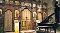 Liconostase de léglise Saint-Julien-le-Pauvre, de rite grec melkite catholique.jpg