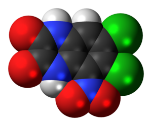 Licostinel - Image: Licostinel molecule spacefill