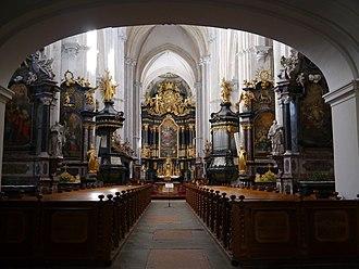 Lilienfeld Abbey - Image: Lilienfeld Stiftskirche Innen 2