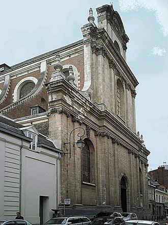 Church of Saint-Étienne, Lille - Image: Lille Eglise Saint Etienne