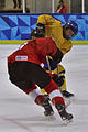 Lillehammer 2016 - Women hockey - Sweden vs Switzerland 37.jpg