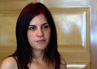 Lina Ben Mhenni Tunisian cyberdissident, blogger and journalist