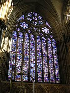 Lincoln Cathedral East window