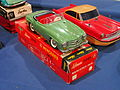 Litho tin toy green Mercedes 190SL, Schuco 2095 pic1.JPG