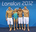 Lithuanian swimming squad at 2012 Olympic Games (cropped).jpg