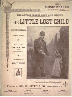The Little Lost Child song