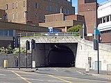 Liverpool Dock exit, Queensway Tunnel.jpg