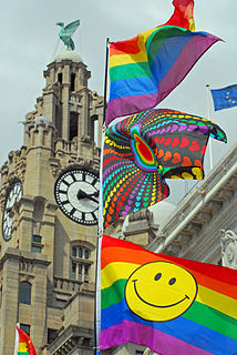 Liverpool Pride Annual LGBT event in Liverpool, England