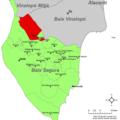 Localització d'Albatera respecte el Baix Segura.png