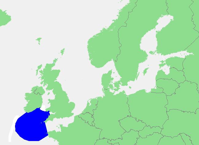 Locatie Keltische Zee