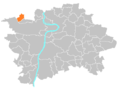Location map municipal district Prague - Přední Kopanina.PNG