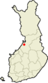 Location of Ruukki in Finland.png