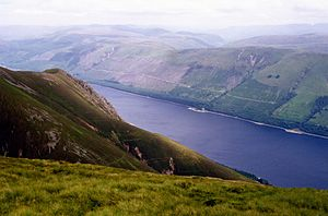 Meall na Teanga - Loch Lochy from the summit of Meall na Teanga.