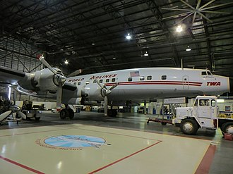 National Airline History Museum - Lockheed Super G Constellation