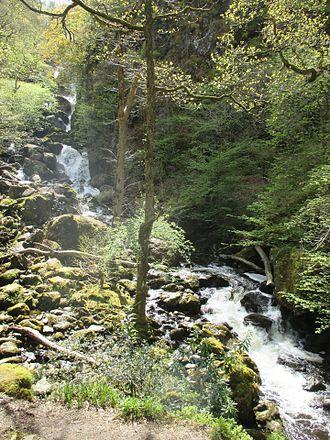 Cataract of Lodore - Lodore Falls